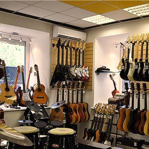Музыкальные магазины Подпорожье